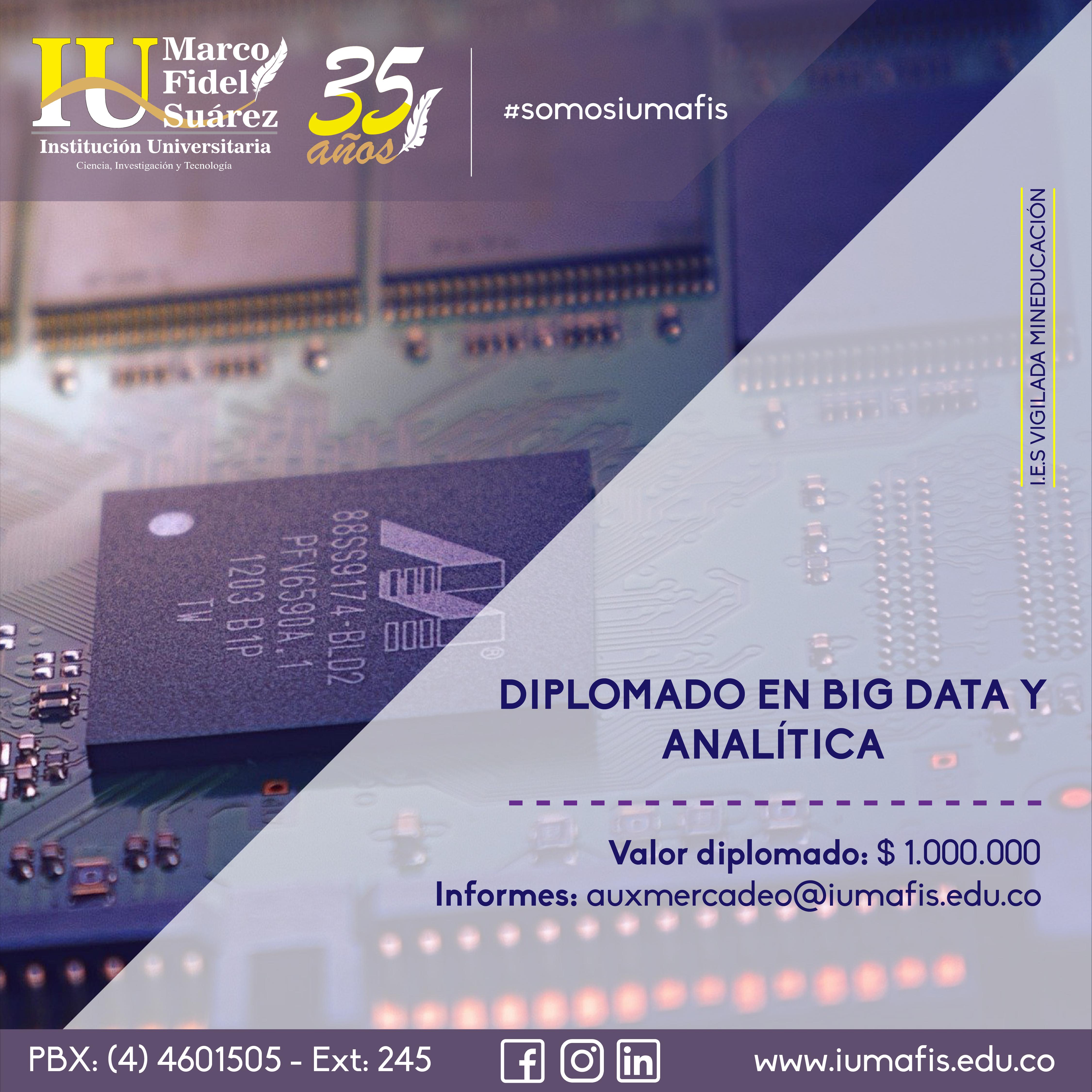 Diplomado en Big Data y Analítica